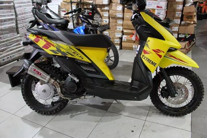 Kumpulan Modifikasi Motor Yamaha X Ride 2016 Dealer Yamaha Jakarta