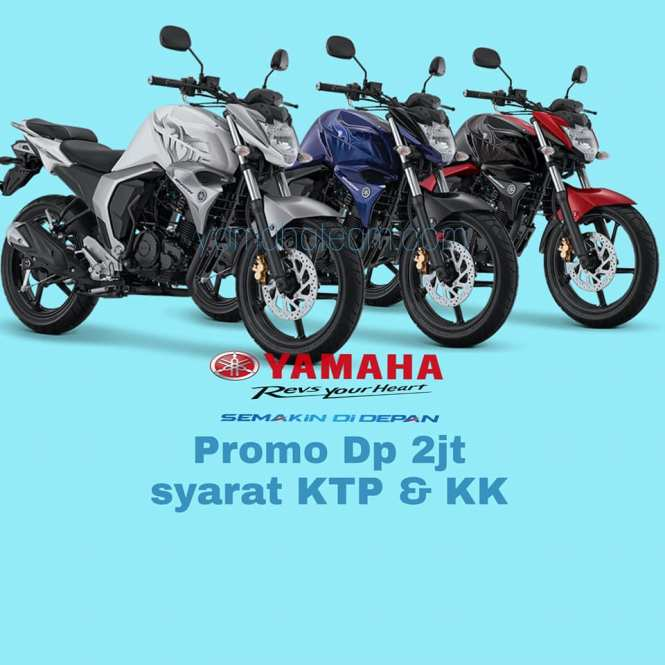 Promo Kredit Motor Yamaha All New Byson Fi