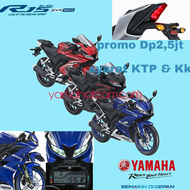 Promo Kredit Motor Yamaha All New R15 vva