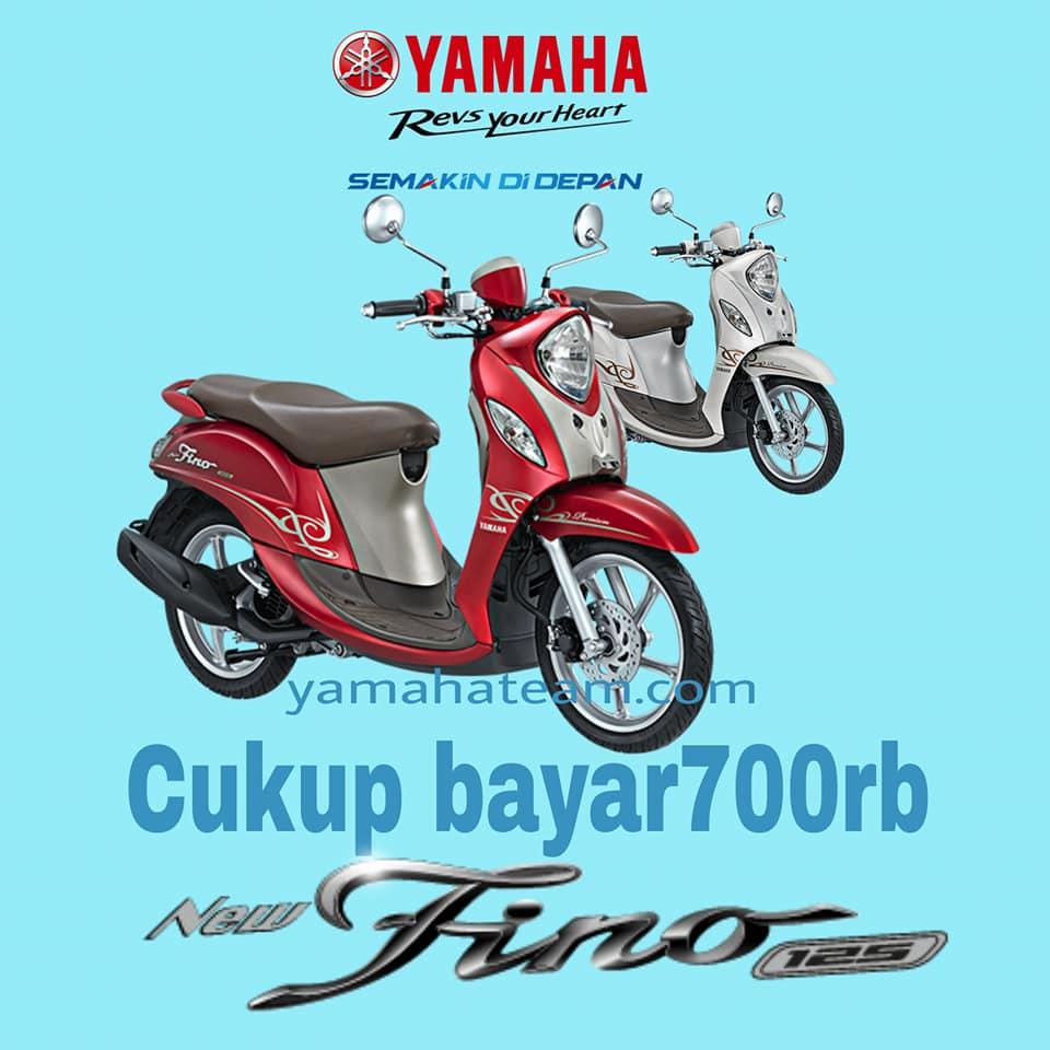 Promo Kredit Motor Yamaha fino125 Premium