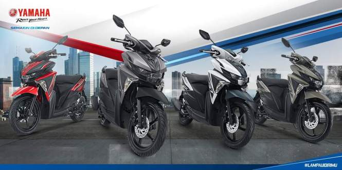 Yamaha all new soul gt 125