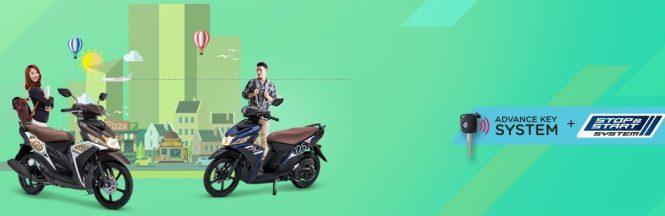 Kredit Motor Yamaha Mio M3 Aks Sss Dp Murah