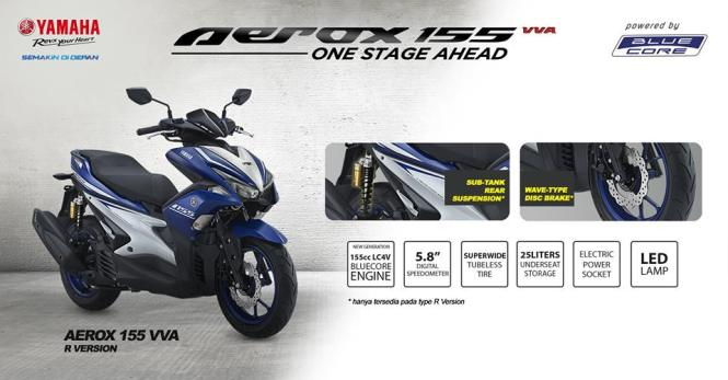 kredit-yamaha-aerox-155cc-biru