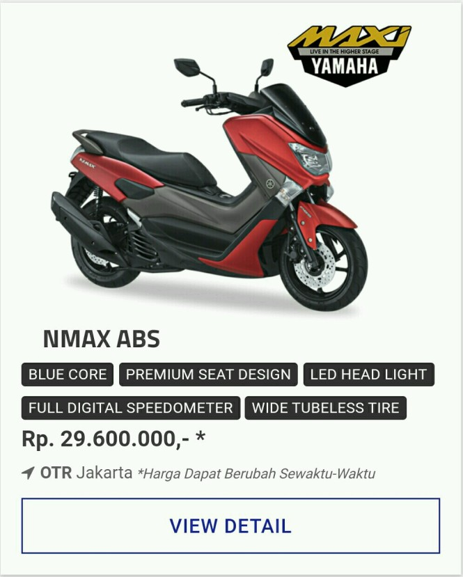 Kredit Motor Yamaha Nmax Abs