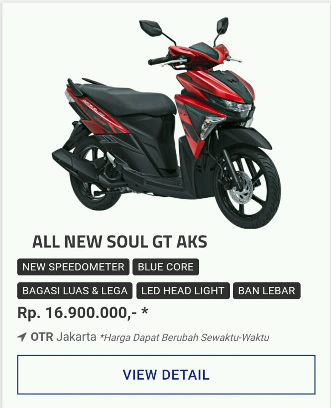 Kredit Motor Yamaha All New Soul GT 125 Aks