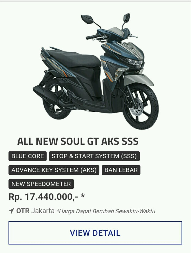 Kredit Motor Yamaha All New Soul GT 125 Aks Sss