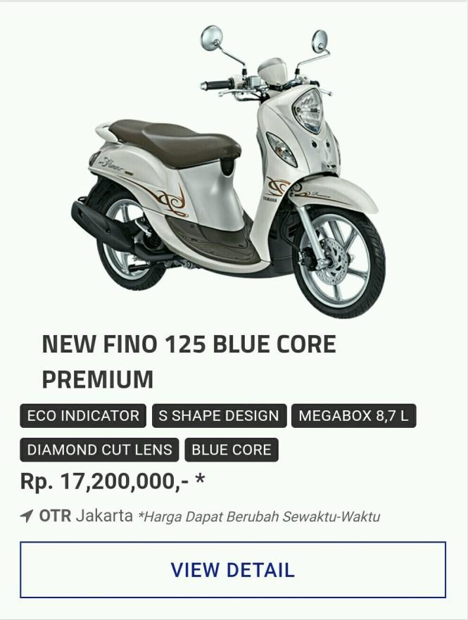 Kredit Motor Yamaha Fino 125